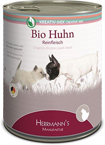 Herrmanns Bio Huhn 100 Prozent, 6er Pack (6 x 800 g)